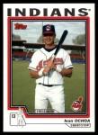2004 Topps Traded #198 T  -  Ivan Ochoa First Year Front Thumbnail