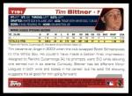 2004 Topps Traded #191 T  -  Tim Bittner First Year Back Thumbnail