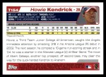 2004 Topps Traded #154 T  -  Howie Kendrick First Year Back Thumbnail