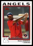 2004 Topps Traded #154 T  -  Howie Kendrick First Year Front Thumbnail
