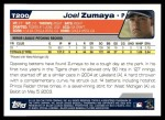 2004 Topps Traded #200 T  -  Joel Zumaya First Year Back Thumbnail