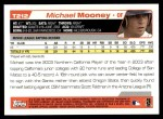 2004 Topps Traded #212 T  -  Michael Mooney First Year Back Thumbnail