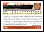 2004 Topps Traded #183 T  -  Juan Gutierrez First Year Back Thumbnail