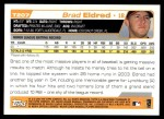 2004 Topps Traded #207 T  -  Brad Eldred First Year Back Thumbnail