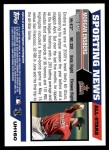 2005 Topps Update #160   -  Morgan Ensberg All-Star Back Thumbnail