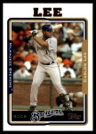 2005 Topps Update #45  Carlos Lee  Front Thumbnail