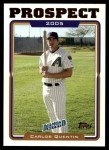 2005 Topps Update #102  Carlos Quentin  Front Thumbnail
