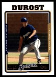 2005 Topps Update #291  Kenny Durost   Front Thumbnail