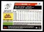 2006 Topps Update #7  Preston Wilson  Back Thumbnail