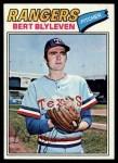 1977 Topps #630  Bert Blyleven  Front Thumbnail