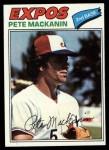 1977 Topps #156  Pete Mackanin  Front Thumbnail