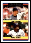 2006 Topps Update #299   -  Chris Capuano / Prince Fielder Brewers Team Leaders Front Thumbnail
