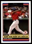 2006 Topps Update #179   -  Manny Ramirez Season Highlights Front Thumbnail