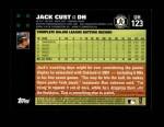 2007 Topps Update #123  Jack Cust  Back Thumbnail