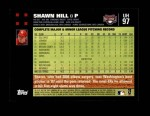 2007 Topps Update #97  Shawn Hill  Back Thumbnail