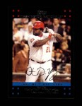 2007 Topps Update #255  Dmitri Young  Front Thumbnail