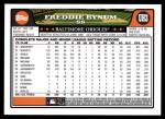 2008 Topps Updates #3  Freddie Bynum  Back Thumbnail