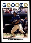 2008 Topps Updates #42  Chip Ambres  Front Thumbnail