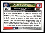 2008 Topps Updates #34   -  Nate McLouth All-Star Back Thumbnail