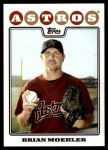 2008 Topps Updates #22  Brian Moehler  Front Thumbnail