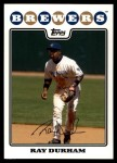 2008 Topps Updates #188  Ray Durham  Front Thumbnail