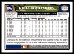 2008 Topps Updates #212  Guillermo Mota  Back Thumbnail
