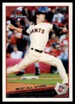 2009 Topps Update #232  Tim Lincecum  Front Thumbnail