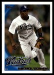 2010 Topps Update #60  Miguel Tejada  Front Thumbnail
