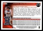 2010 Topps Update #136  Jarrod Saltalamacchia  Back Thumbnail