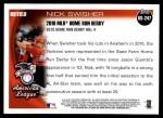 2010 Topps Update #247  Nick Swisher  Back Thumbnail