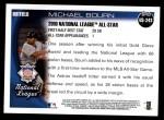 2010 Topps Update #243  Michael Bourn  Back Thumbnail