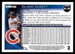 2010 Topps Update #184  Blake DeWitt  Back Thumbnail