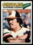 1977 Topps #646  Andres Mora  Front Thumbnail