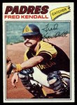 1977 Topps #576  Fred Kendall  Front Thumbnail