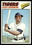 1977 Topps #637  Alex Johnson  Front Thumbnail
