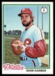1978 Topps #177  Gene Garber  Front Thumbnail