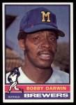 1976 Topps #63  Bobby Darwin  Front Thumbnail
