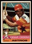 1976 Topps #460  Cesar Cedeno  Front Thumbnail