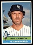 1976 Topps #296  Pat Dobson  Front Thumbnail