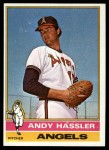 1976 Topps #207  Andy Hassler  Front Thumbnail