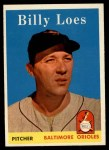 1958 Topps #359  Billy Loes  Front Thumbnail