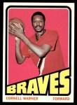 1972 Topps #59  Cornell Warner   Front Thumbnail