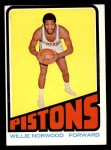 1972 Topps #94  Willie Norwood   Front Thumbnail