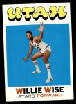 1971 Topps #194  Willie Wise  Front Thumbnail