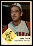 1963 Fleer #33  Gene Freese  Front Thumbnail