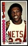 1976 Topps #113  John Williamson  Front Thumbnail