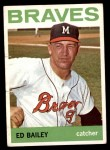 1964 Topps #437  Ed Bailey  Front Thumbnail