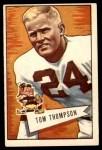 1952 Bowman Large #26  Tom Thompson  Front Thumbnail