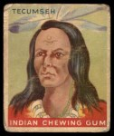 1933 Goudey Indian Gum #42  Tecumseh   Front Thumbnail