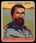 1933 Goudey Indian Gum #62  Gen. George Crook   Front Thumbnail